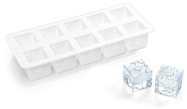 1 tray of ice