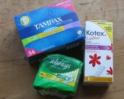 Tampons or Pads for that time of month