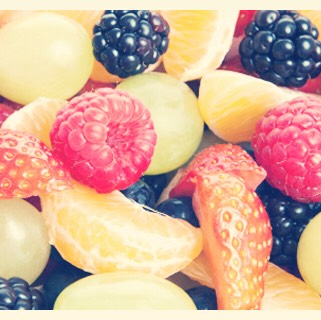Studies show:Eating fresh fruit increases your memory and increases your awakeness level.