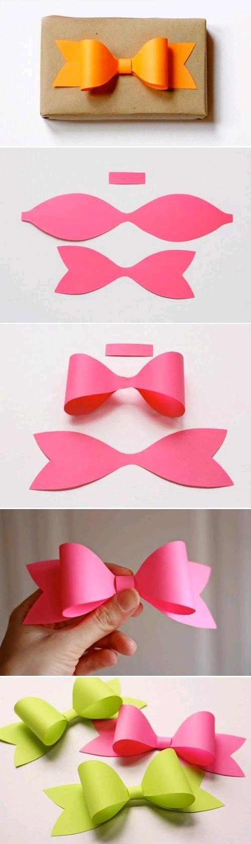 Cute bow to put on Christmas presents this year ;)