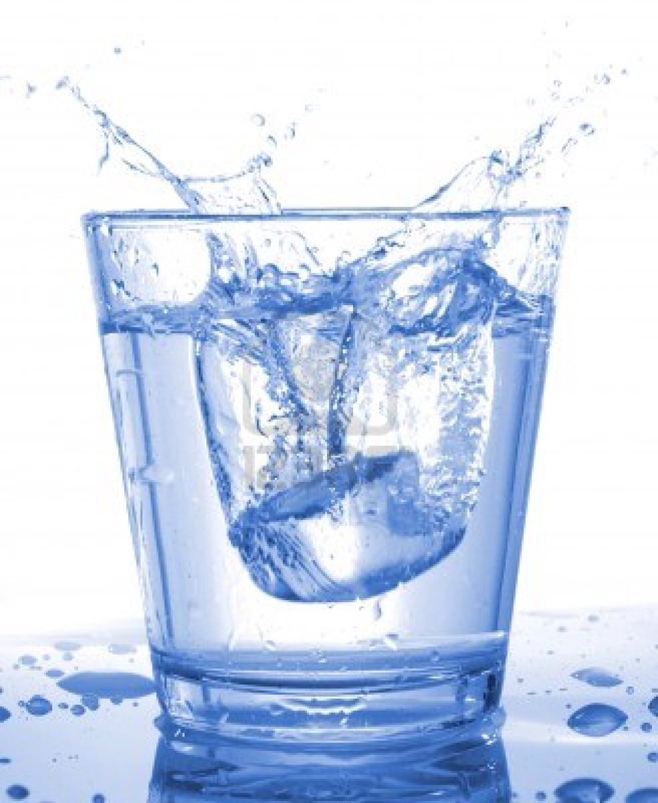 A little bit of water to balance out the acids