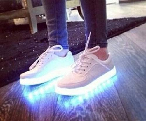 Lovely DIY Light Up Shoes Nice Design