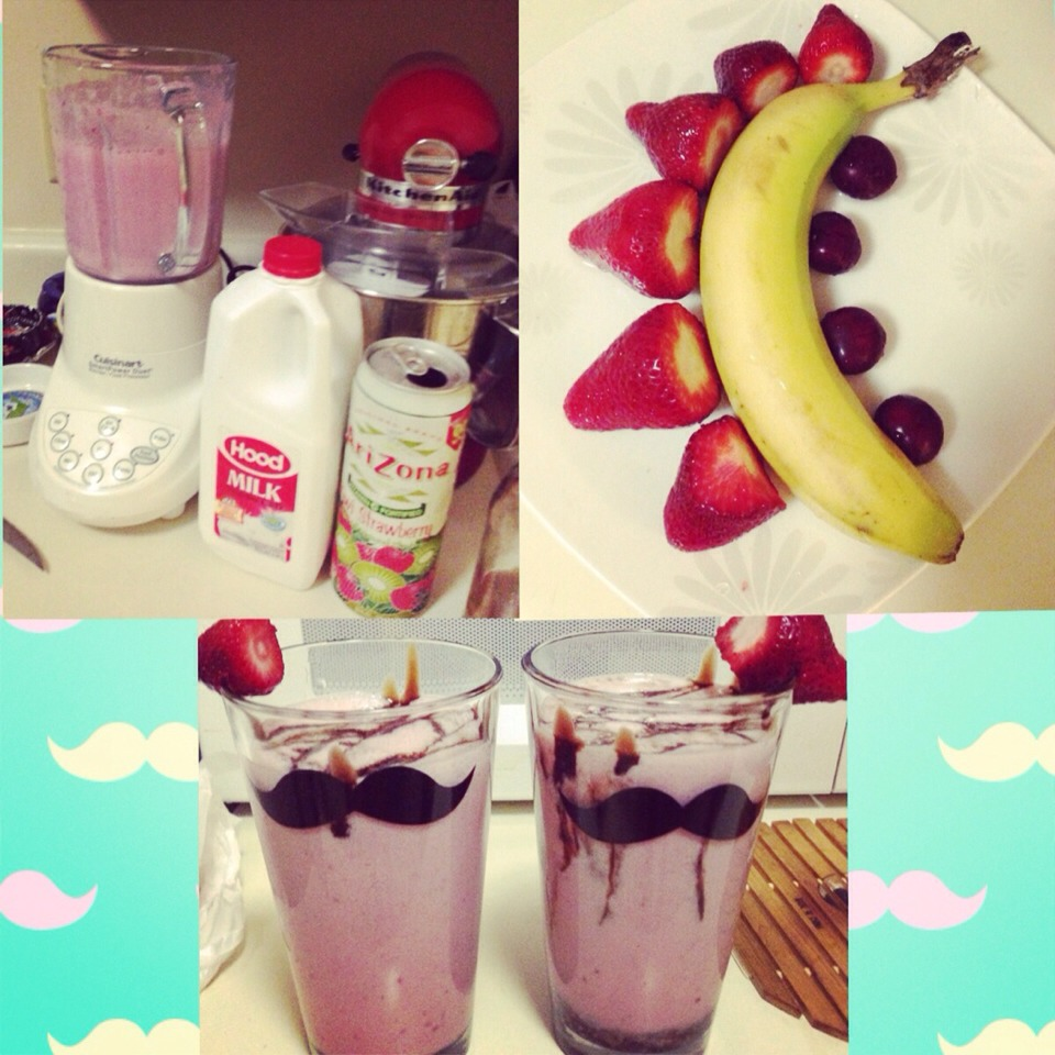 The ingredients given by my recipe will make up to 2 tall glass size of smoothie :)