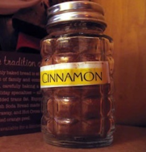 Fill capsule 1/3 with Cinnamon