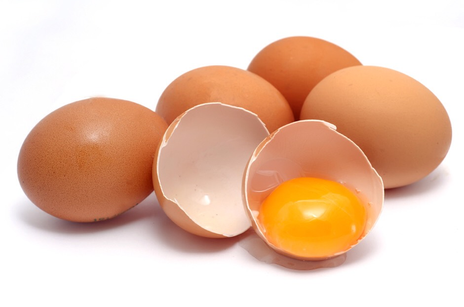 Keep your hair soft and shinny by using eggs.