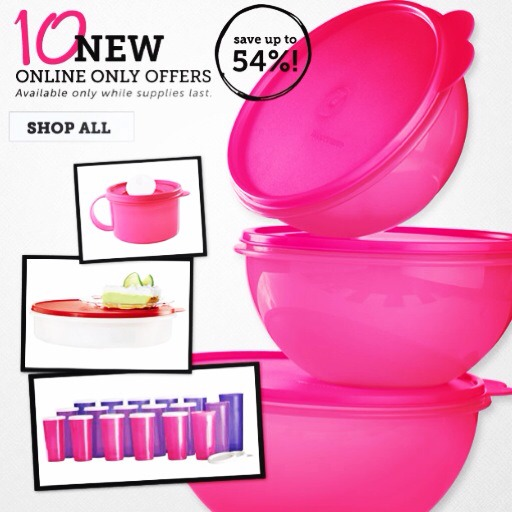 Shop online and look around for more offers! You want free Tupperware? Lets have a Party, we can do online catalog, or Facebook. We can also combine the two.  My2.tupperware.com/nancyserrano  Email at: latejanitanancy@gmail.com