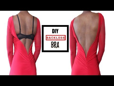 Diy Backless Bra By Georgette Musely