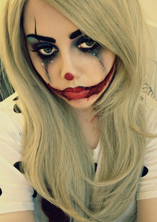 The sad clown.