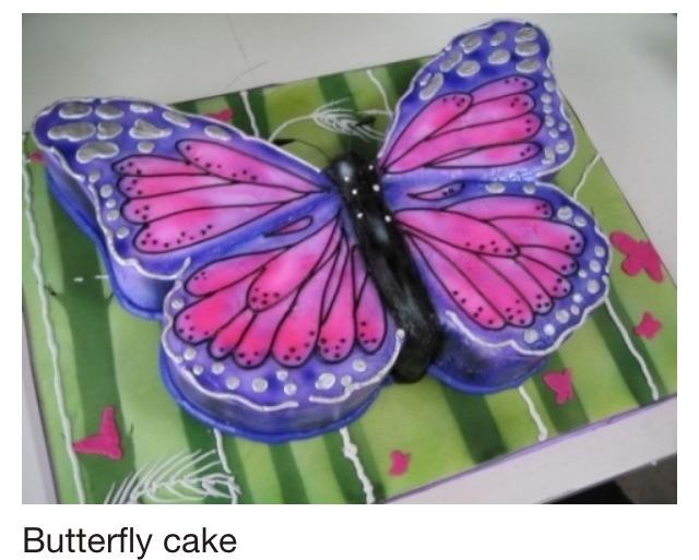 Торты бабочка фото