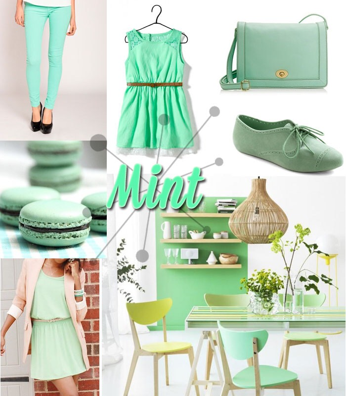 Here are a collection of MINT colored looks for you guys!