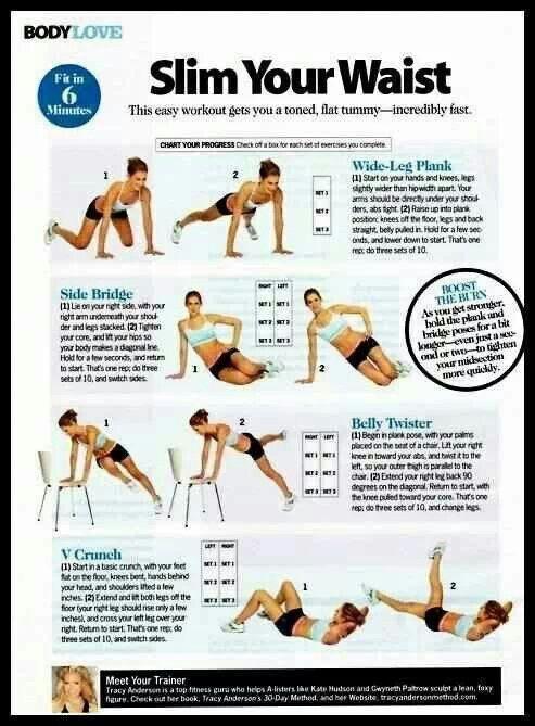 Best Waist Slimming Workouts