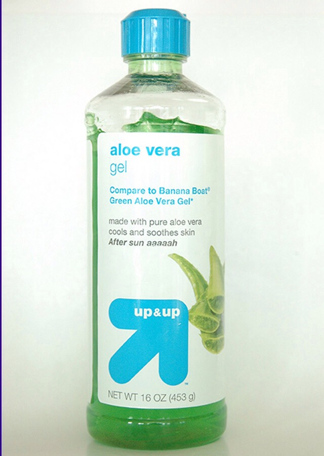 Home Remedy: Apply a layer of aloe to skin for 15-30 mins
