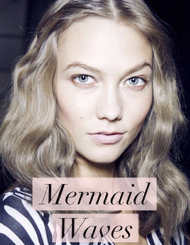 These bed-head-inspired mermaid waves were everywhere on the AW13 catwalks, from Calvin Klein to Diane Von Furstenberg, both making waves with dreamy, tousled curls. They are definitely manageable and easy to achieve with a curling tong on those heavy, dark mornings- just what we like to hear!
