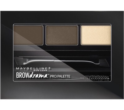 After using Annabelle skinny liner . I go over with Maybelline brow drama pro palette. I find that using this helps set it better . 👍