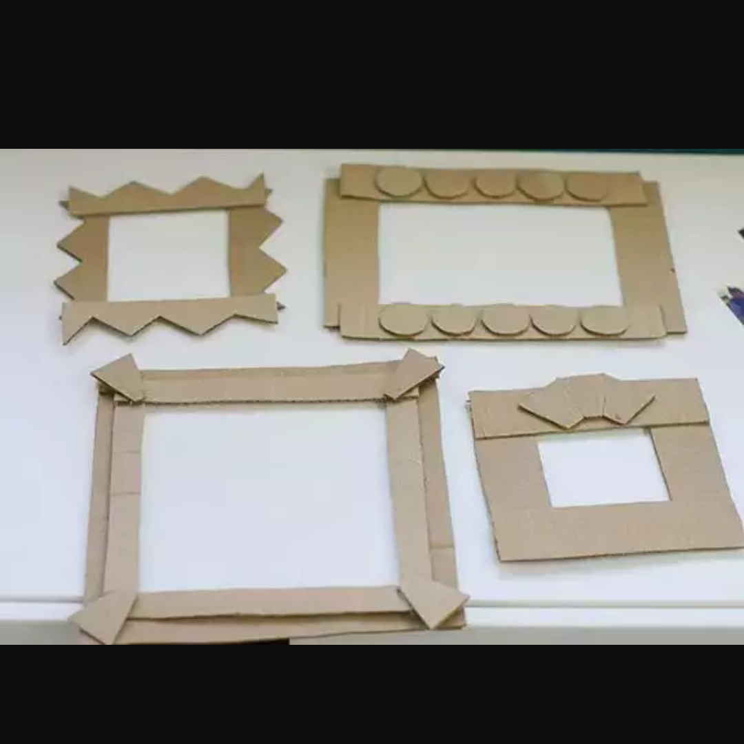 Fancy Picture Cardboard Frames Adornment - Picture Frame Ideas ...