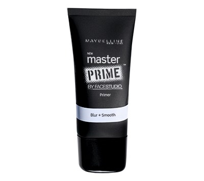 I start off with my routine is putting on some Maybelline Master Prime . I use the Blur + Redness Control .