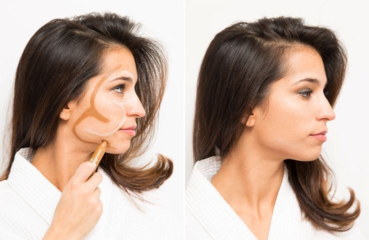3. To Contour The Face