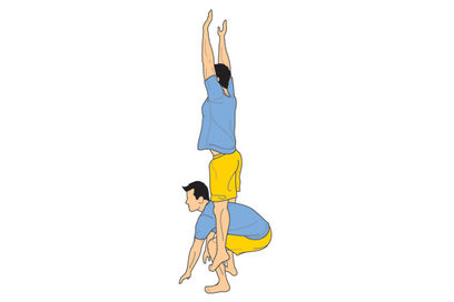 do 20 frog jumps do 20 sit ups 19 frog jumps 19 sit ups count down from 20-1  I do this in gymnastics and I can already see the results