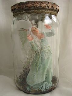 Get Fairy-related items like:  1) Fairies trapped in a Jar 2) Fairy Statues 3) Fairy Dust Bottles