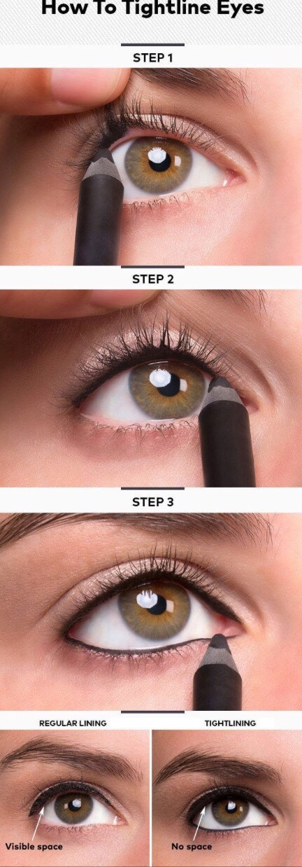 How to Tightline with Eyeliner