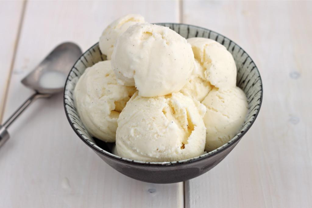 You will need vanilla ice cream👌