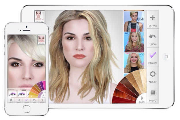 1. ModiFace is the most popular digital makeover app that lets you try out different looks.