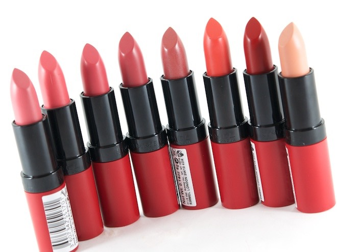 The Rimmel Kate Moss lipstick are great matte lipsticks and last a long time