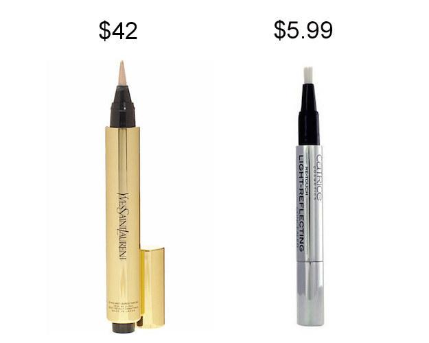 Catrice Re-Touch Light-Reflecting Concealer instead of YSL Touch Éclat.