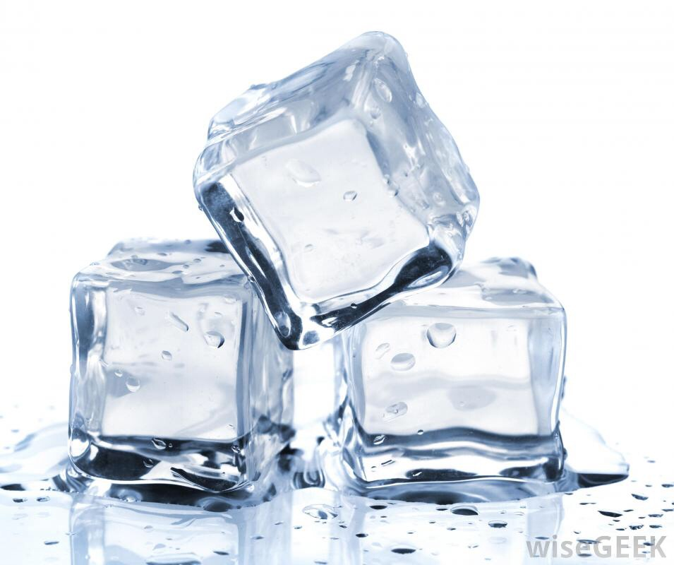 Boiling water before freezing it will give you crystal clear ice.