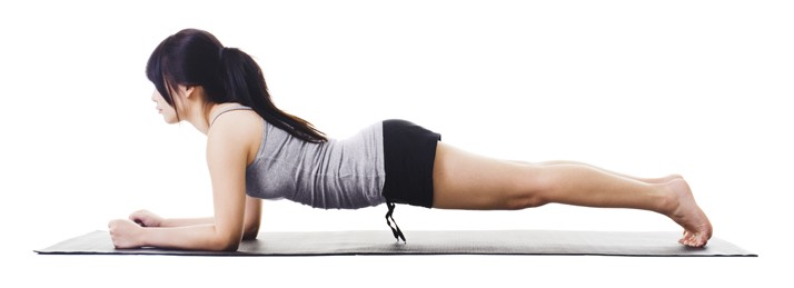Plank 3 sets of 30 seconds