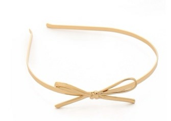 1. Simple and sweet hair accessories are always in style, and we absolutely adore this Kate Spade New York skinny headband, which comes in both gold and silver.
