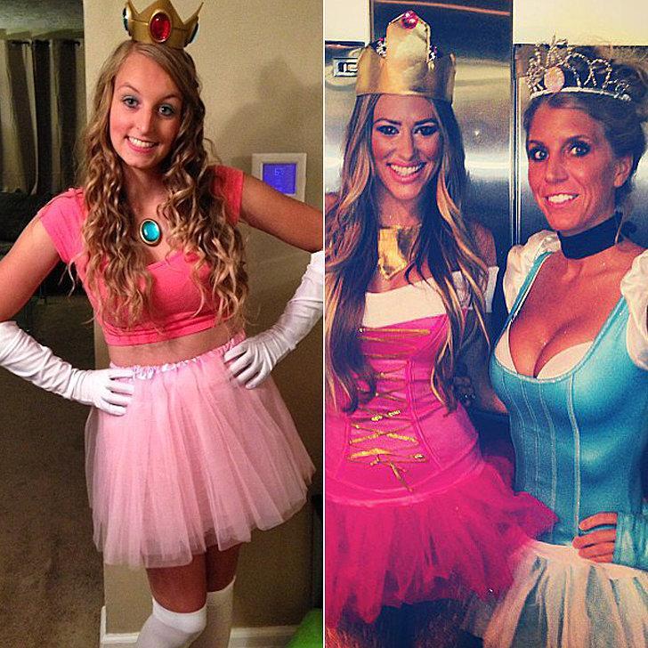 Costumes: Princess Peach, Disney princesses Crown Princess Tiara ($1)