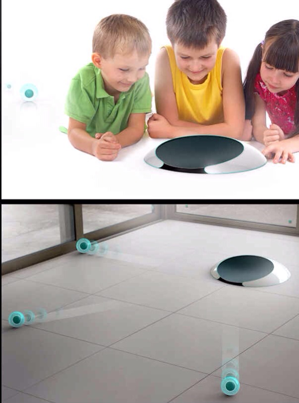 """12. Roomba 2.0: """"jell"""" balls that disperse and do the cleaning for you."""