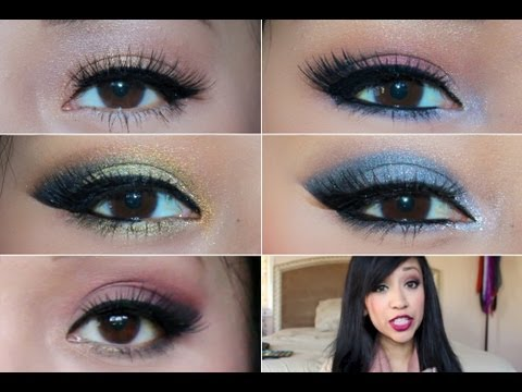 for Brown eyes eyeshadows that are pastel color will make your eyes pop.