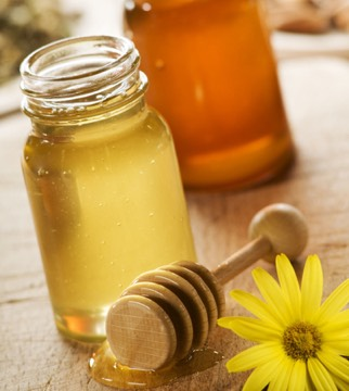 Mix 1 cup of raw honey with 5 tablespoons of olive oil, and 1/2 cup of conditioner