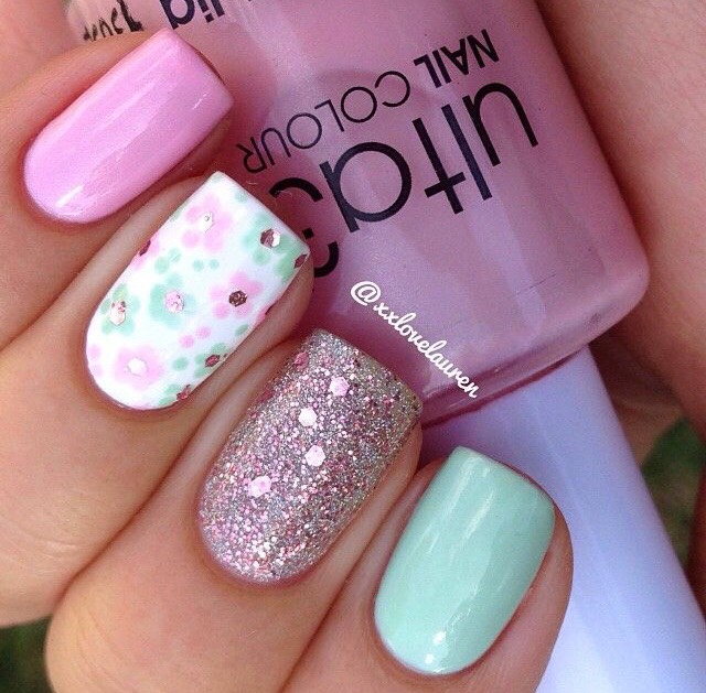 Super Cute Spring Nail Ideas 🐰💕 - Musely