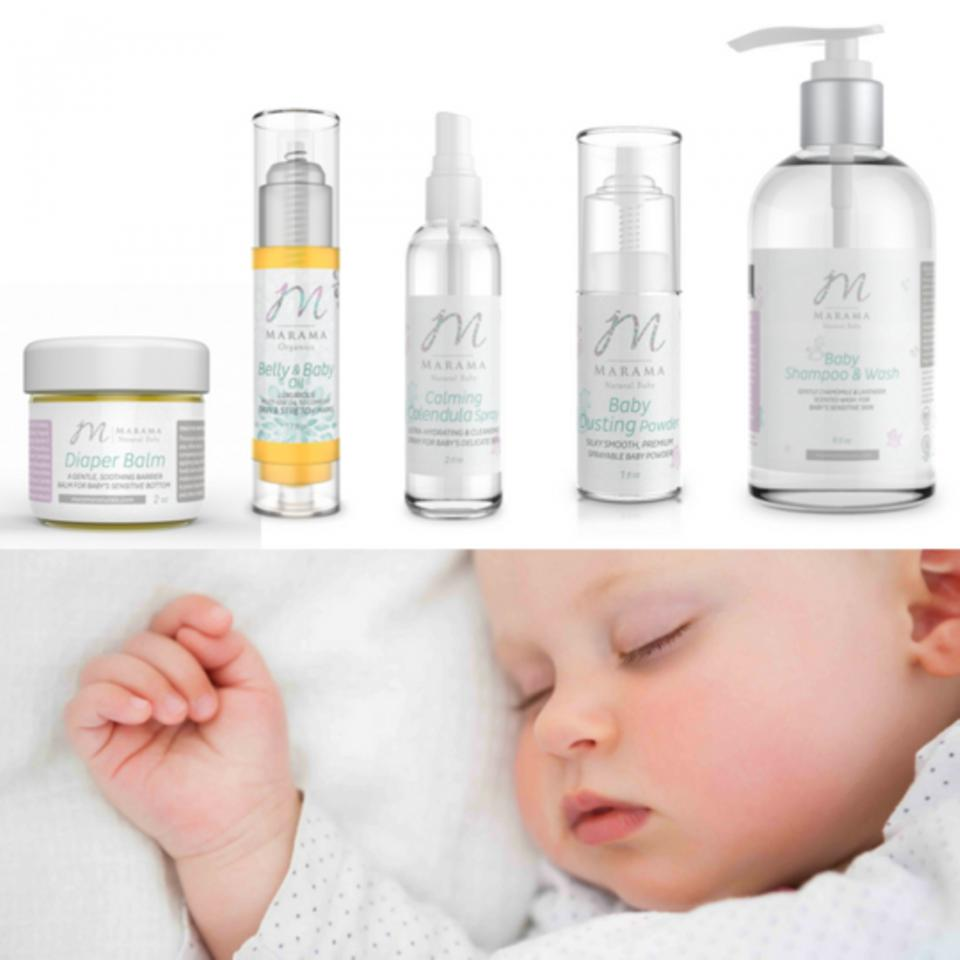 Well in fact, there are! Everyone has been raving about the product line from Marama Naturals because all of their items can be used on both mom and baby!Everything they make is cruelty-free, artificial fragrance-free, paraben-free, and vegan friendly.  Some of their top-rated products include: