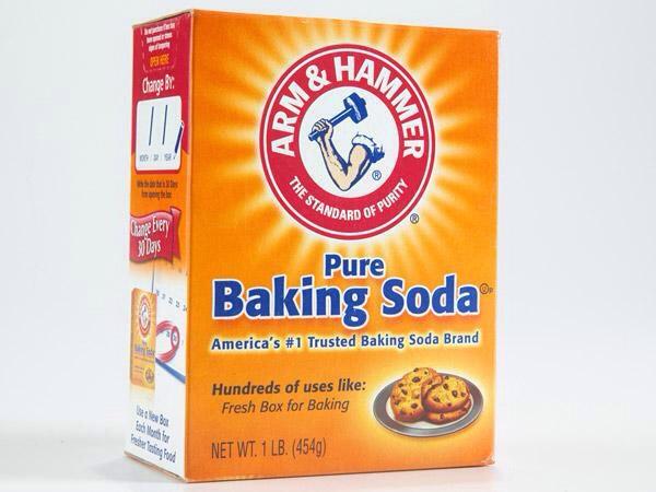 1 teaspoon of baking soda