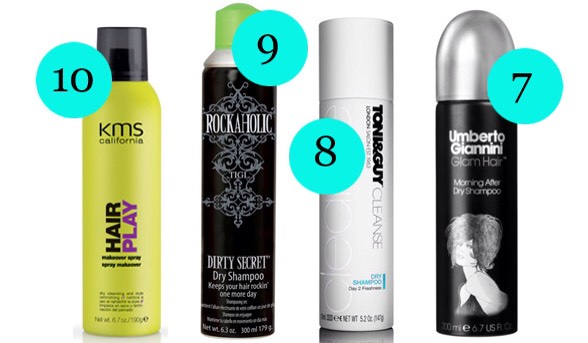 9 BEDHEAD ROCKAHOLIC DIRTY SECRET DRY SHAMPOO |If you're after a volume injection along with your hair refresh, look no further than this rock-star gem from TIGI.