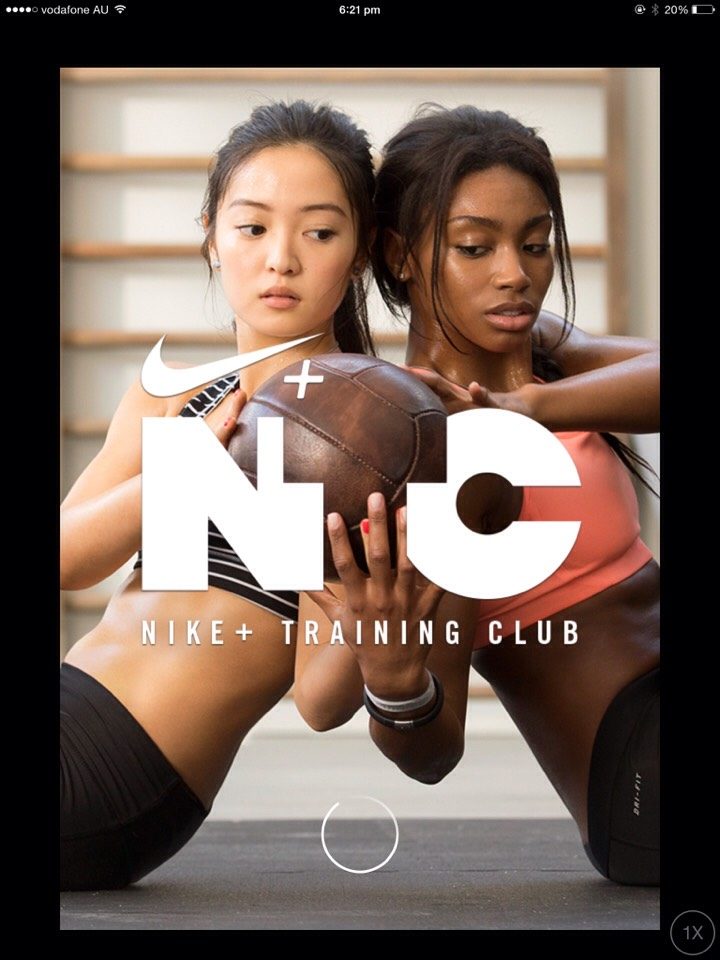 'Nike Training Club' NTC is an amazing app, you create an account and can do weekly challenges.