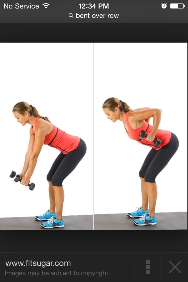 Strengthening your back to prevent slouching.