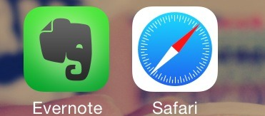Open the image to see both the apps that you need (safari is already on an apple device)