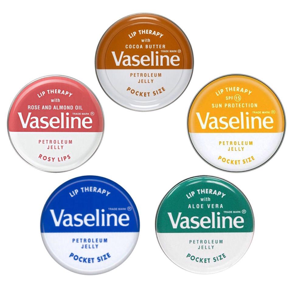 first apply Vaseline