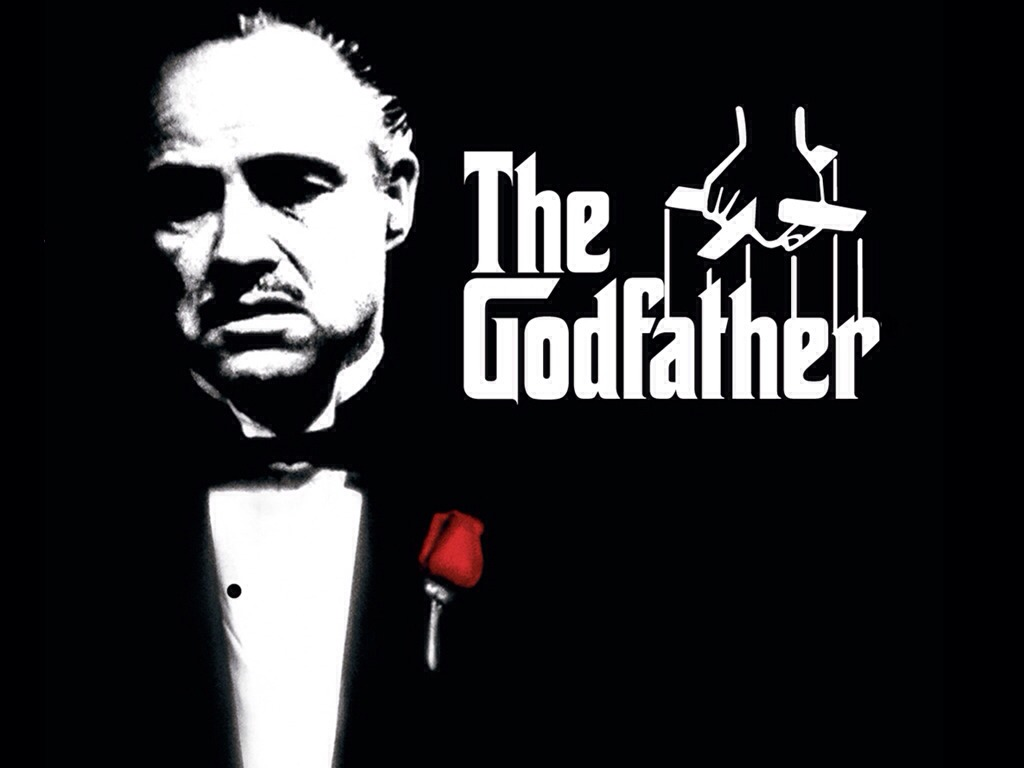 The Godfather, 1972 American Crime film starring Al Pacino, Marlon Brando, James Caan and many more.... I loved this film... Great for a free evening when you have nothing else to do... Sit down put your feet up and relax 😝