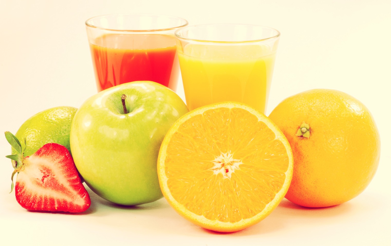 Juice your fruit! Or eat the fruit, but this is better. Mix in your favorite fruits with hints of healthy vegetables like spinach. It is super healthy, so add some and then load the fruit! My favorite juice: Blend apples, oranges, a hint of spinach, LOTS of kiwi, and Vóila!