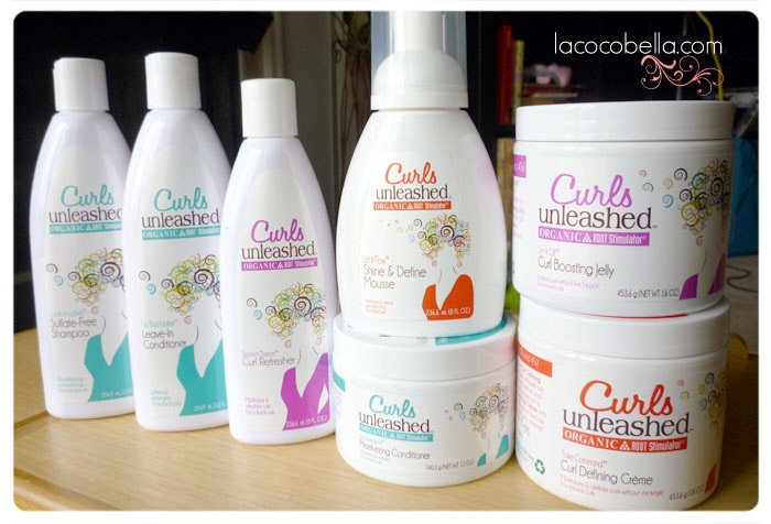 Curls Unleashed! I used the Curl Refresher