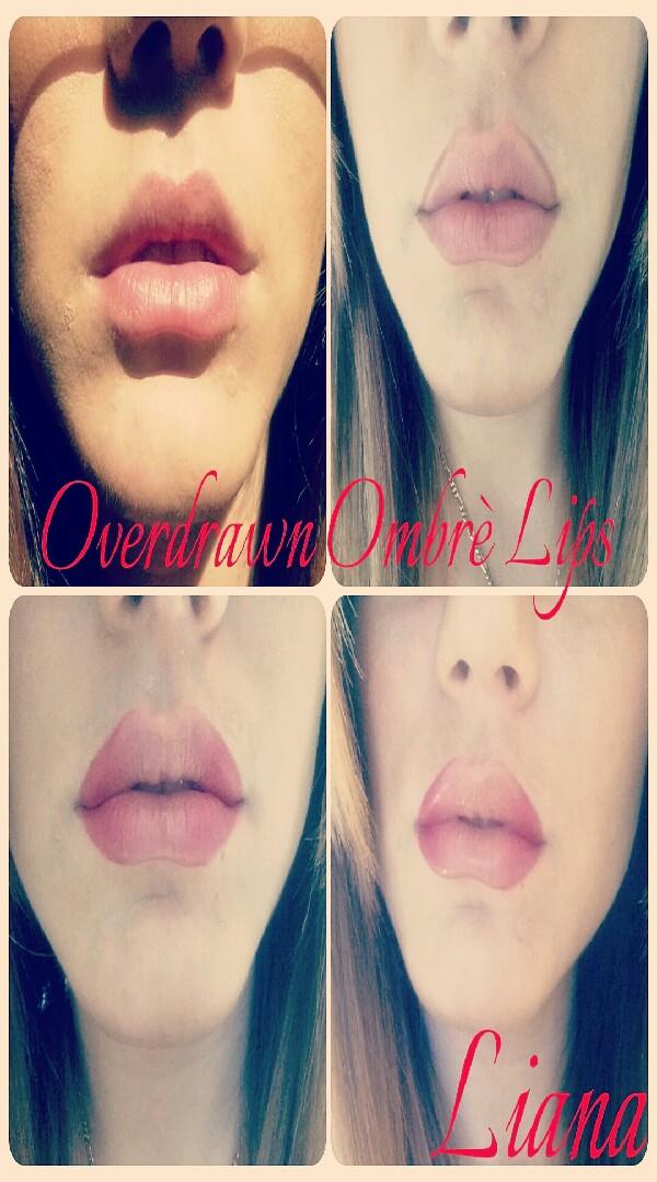 Smoochy Ombrè lips.