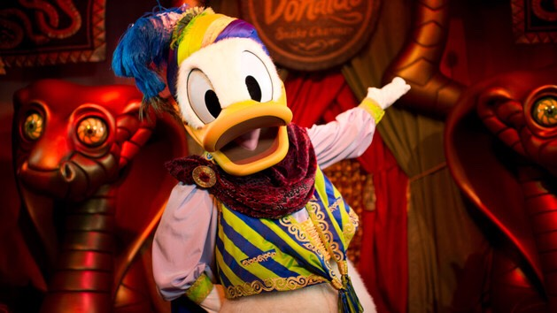 Donald Duck Can be found at Pete's Silly Sideshow in Fantasyland.