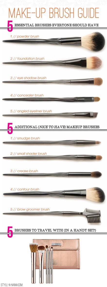 You can never have too many brushes even when dont how to use em all lol