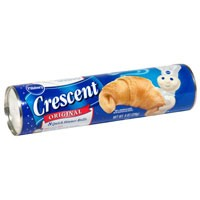 You'll need 2 cans of crescent rolls